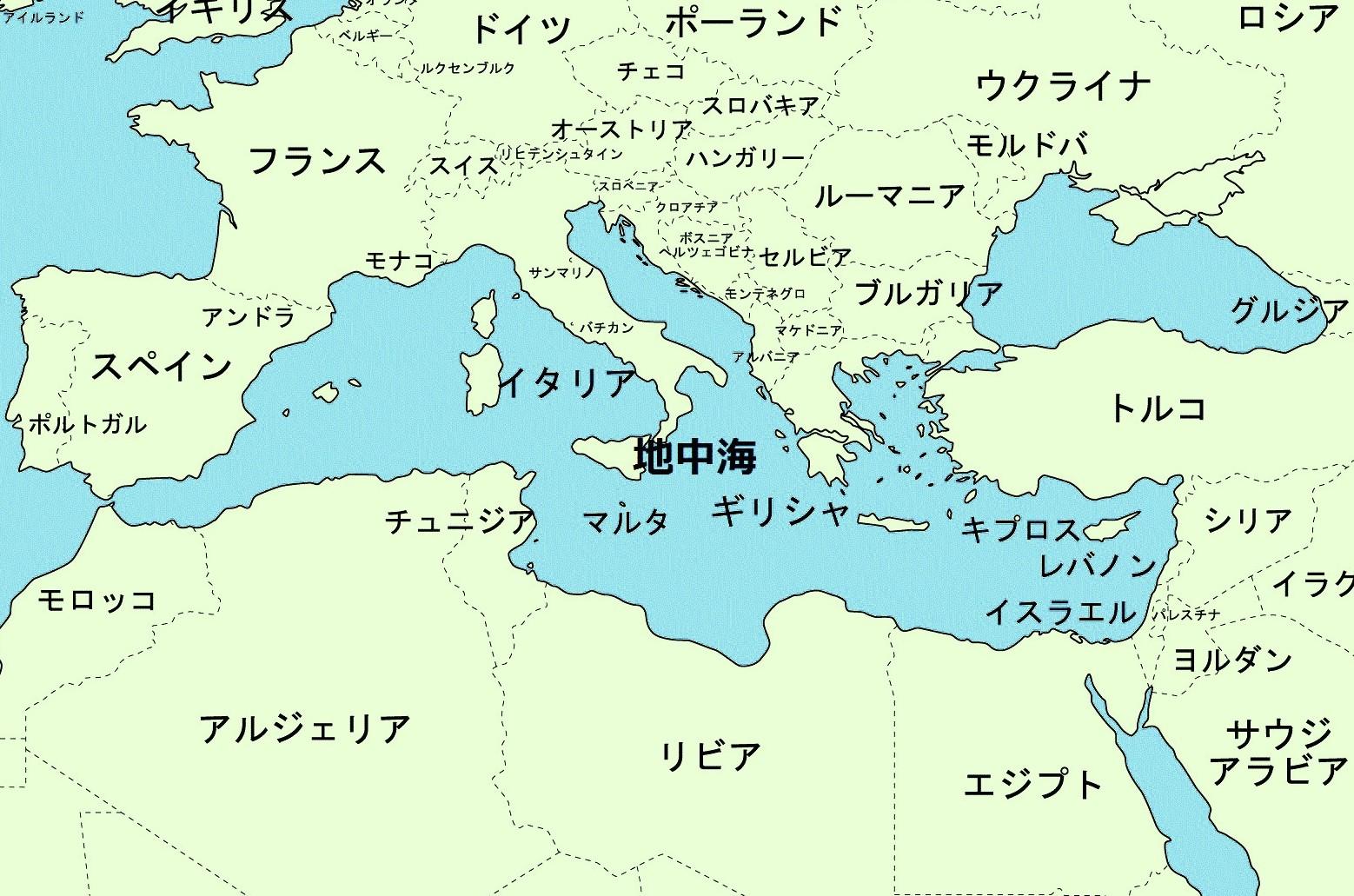 アルバニア 地図
